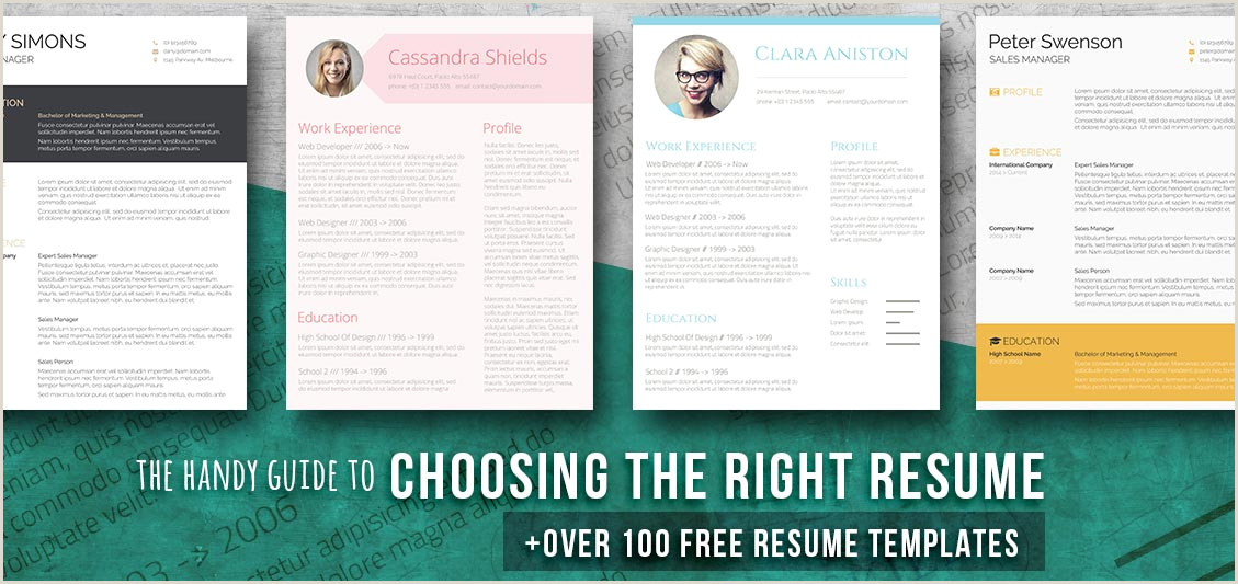 Cv format for Job Pdf Free Download 150 Free Resume Templates for Word [downloadable] Freesumes