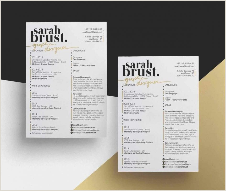 Cv Format For Job Pdf Free Download Template Graphic Designer Cv Template Free