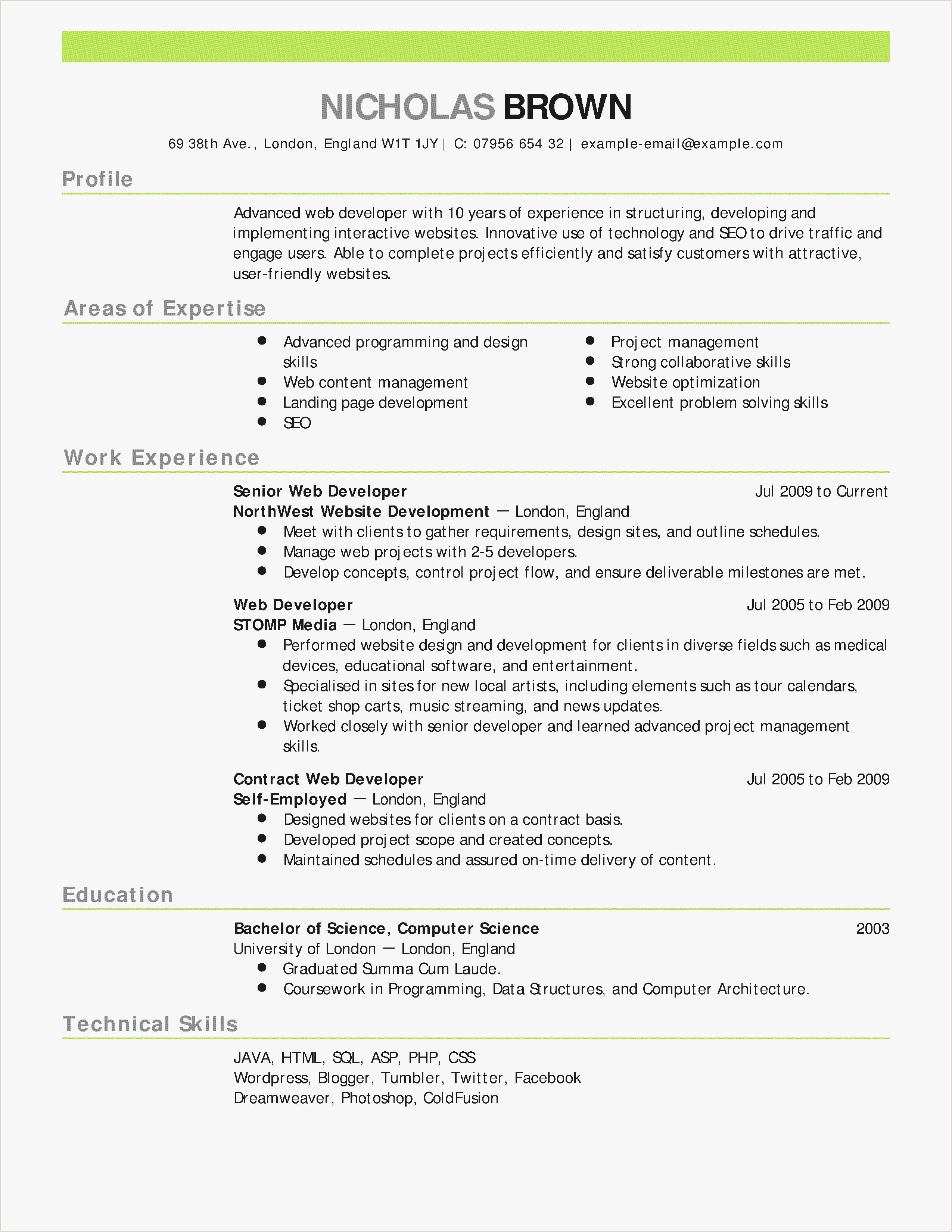 Cv Format For Job Pdf Sample Resume Writing Pdf Valid Web Design Resume Beautiful