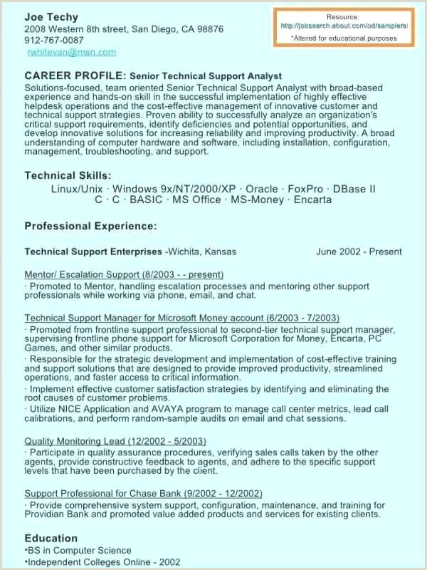 Cv format for Job Seekers Microsoft Office Job Search Template