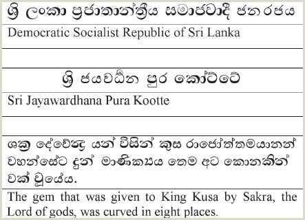 Cv Format For Job Sinhala From The Past To The Present Evolution Of Puting In The