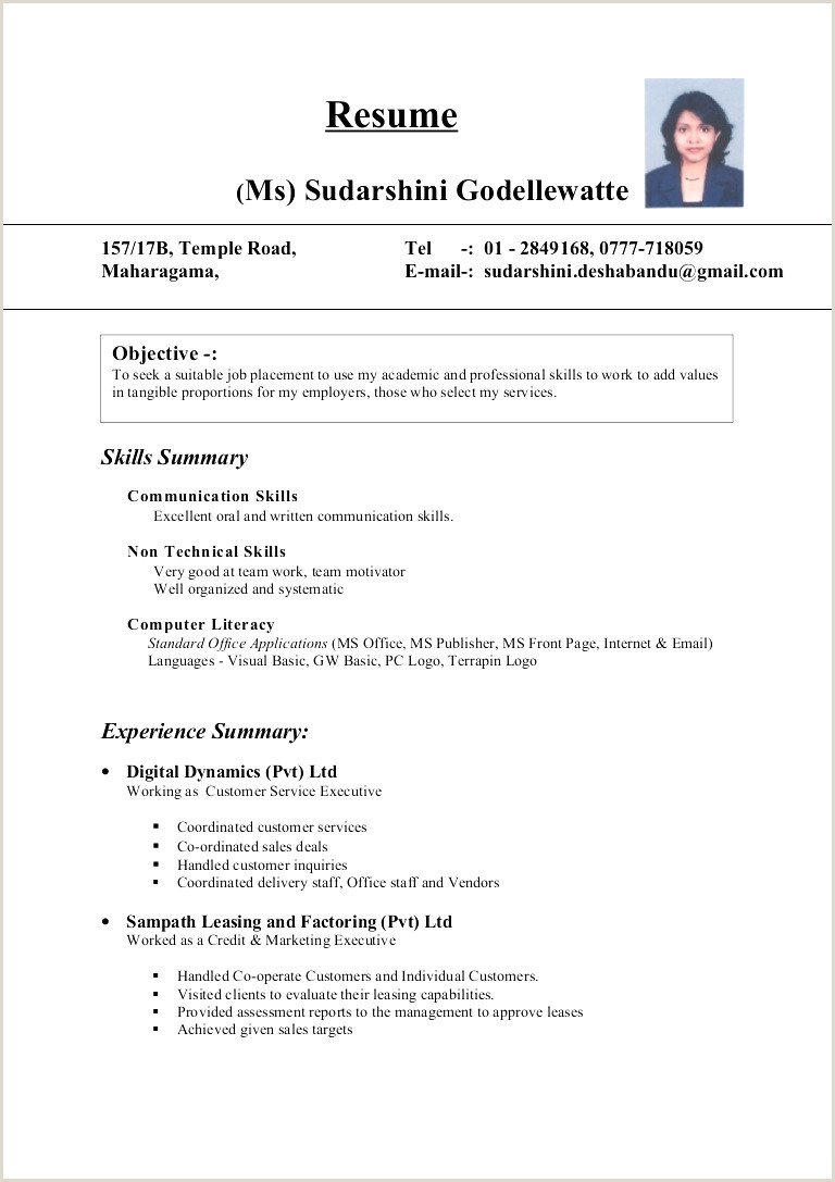 Rose Glen North Dakota ⁓ Try These Professional Cv Format In