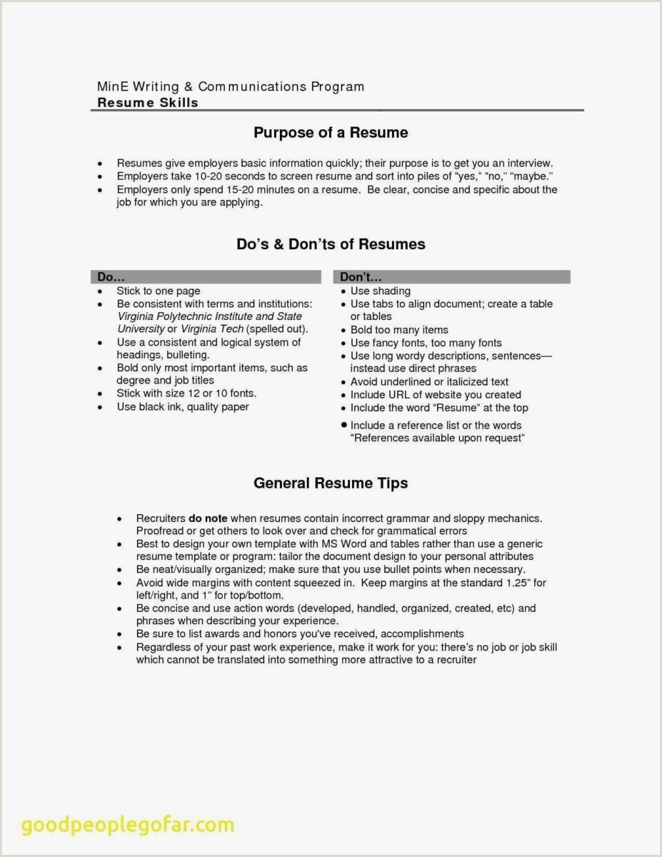 30 Sample Cv format for Job