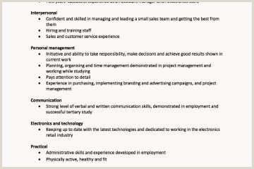 Language Skills Cv Examples Nuevo Skills for A Job Resume