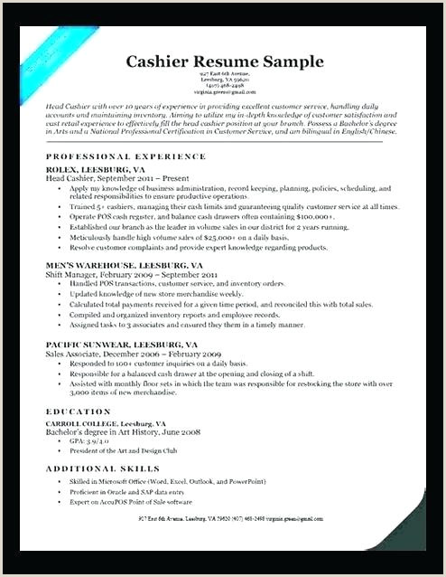 Cv Format For Job Word File Packaging Supervisor Resume Sample