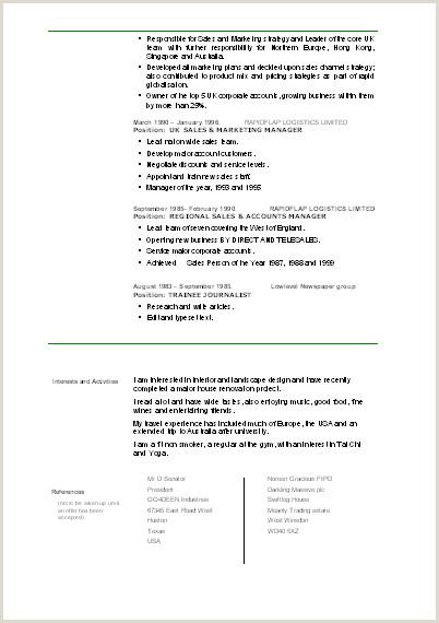 Cv Format For Logistics Job Cv Template Continuation Cv Template Cv Templates