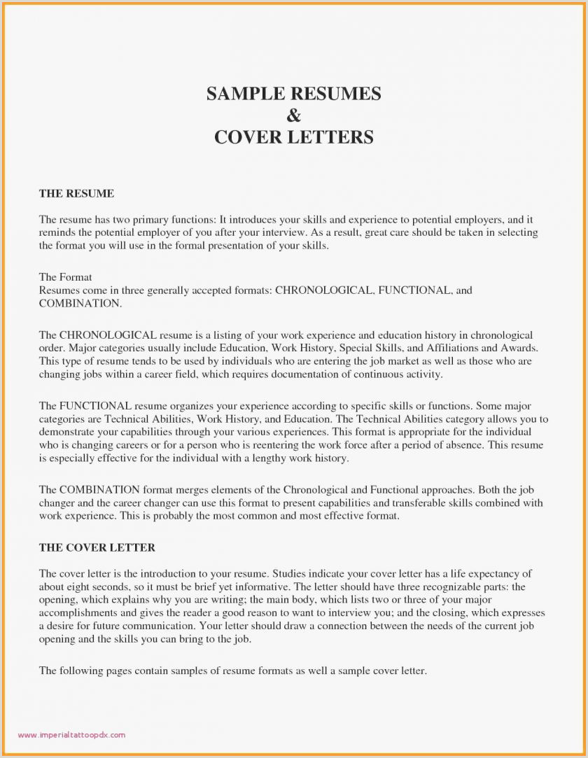 Cv Format For Marketing Job Bination Resume The 2019 Guide To Resumes Marketing