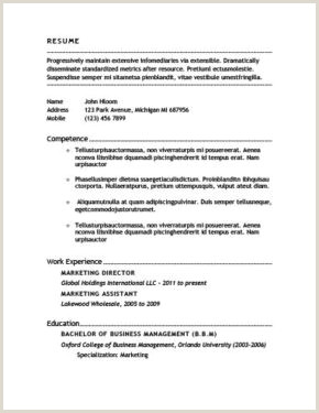 Cv Format For Medical Job 400 Free Resume Templates & Cover Letters [download]