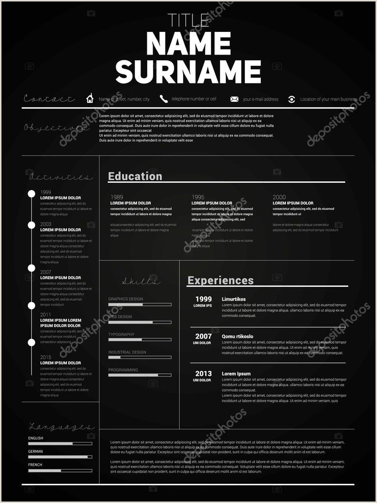 Cv format for Mr Job Cv Mod¨le Cv Emploi — Image Vectorielle Matju78 ©