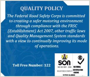 Cv Format For Nigerian Jobs Frsc Ficial Website – Creating Safe Road In Nigeria