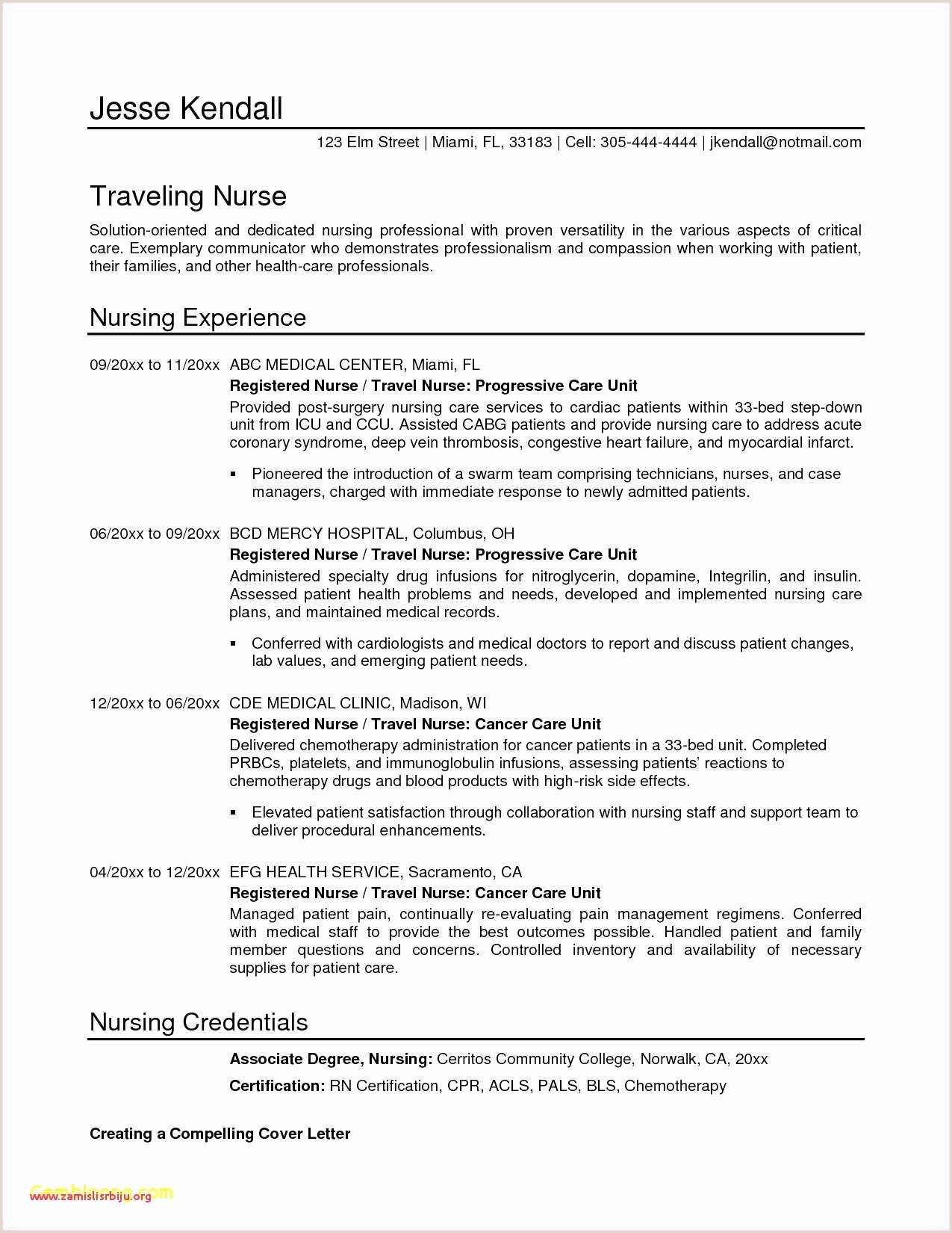Cv Format For Nursing Job Template Cv Word Libre New Cv Format Resume Format In Word