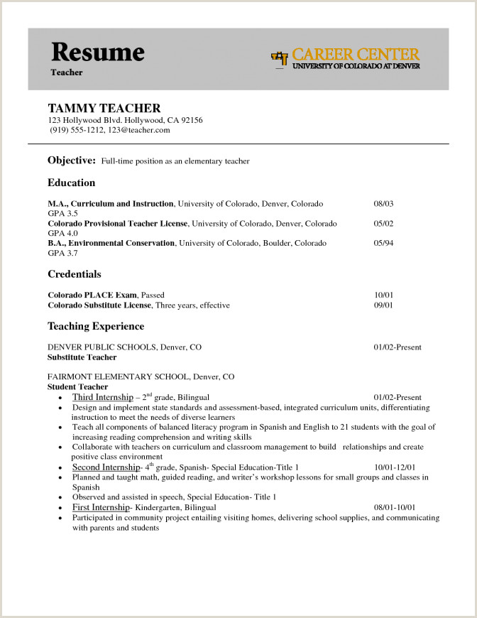 First Resume Objective Cia3india For Timers 7 16 A