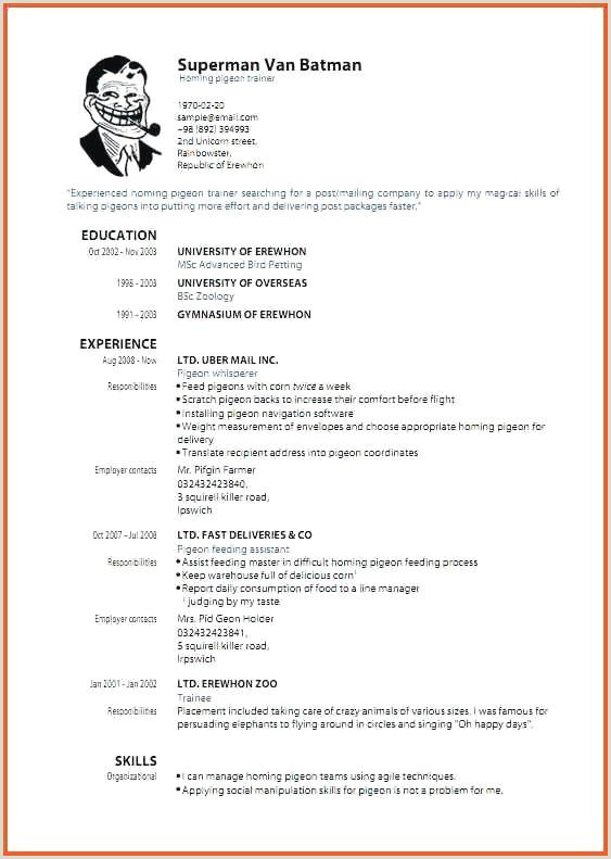 "Modele Cv Pdf Gratuit ¢â""¢¬ 49 Resume format Download Pdf"