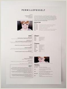 190 Best Resume Design & Layouts images
