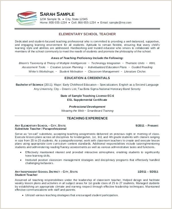 Cv format for Teaching Job In India Cv Template for Teaching Job