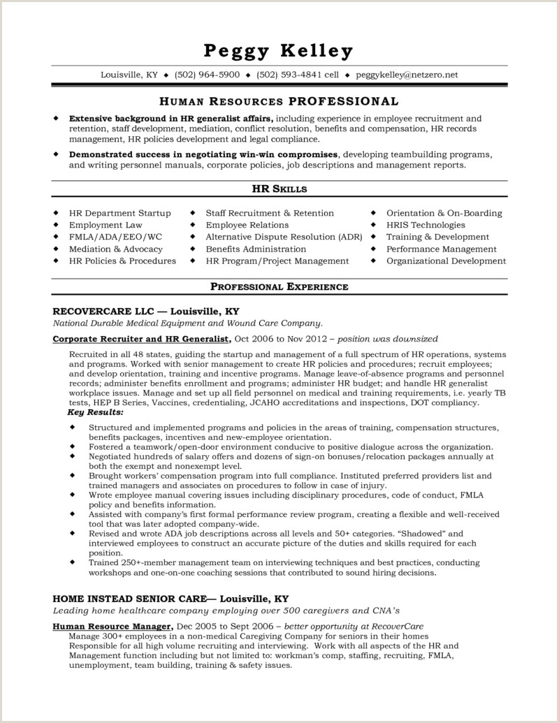 Cv format Hr Executive Fresher Experienced Recruiter Resume Samples Velvet Jobs Template