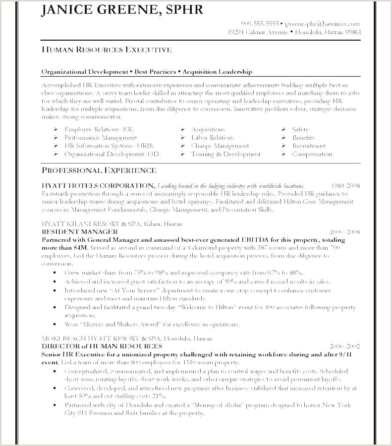Cv format Hr Executive Fresher Free Hr Manager Resume Template In Word Cv Uk and formats