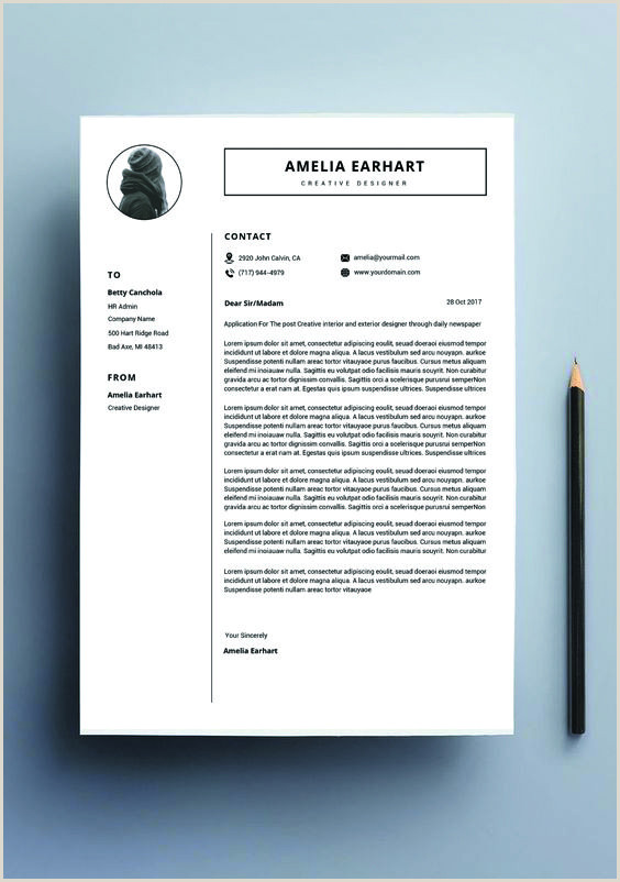Resume design template modern