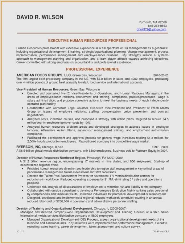Cv format Of Hr Professional Cv Merce International Nouveau Resume Profile Sample Mavi