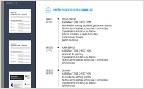 CV des exemples pour présenter vos expériences