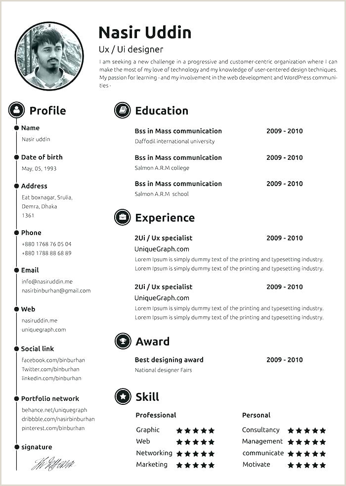 Cv Latest format Download 2018 Templates Free Download Word Document Professional Template