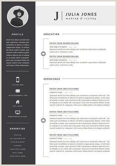 5 pages CV CV Template Lettre de motivation Références