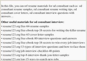 Finance Internships Best 54 Unique Sample Resume for
