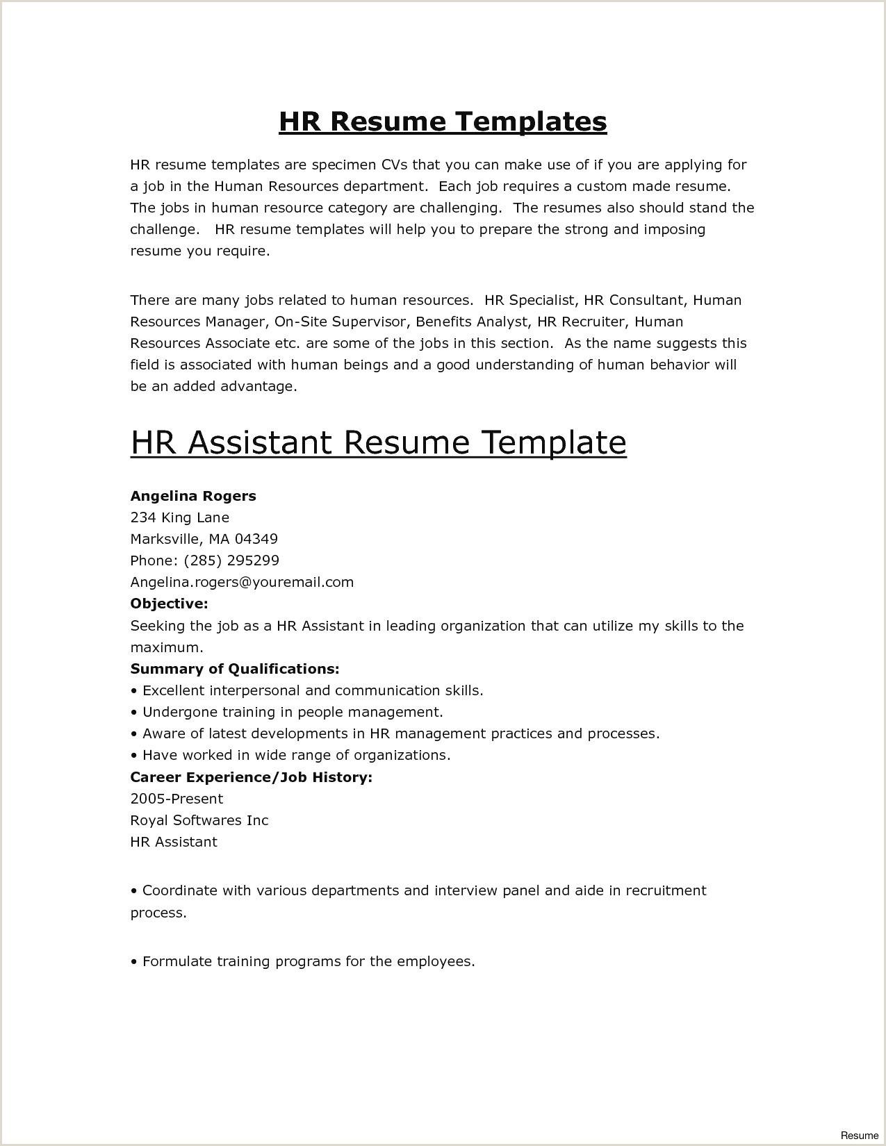 Sample Resume Malaysia Pdf New Blank Resume Template Pdf