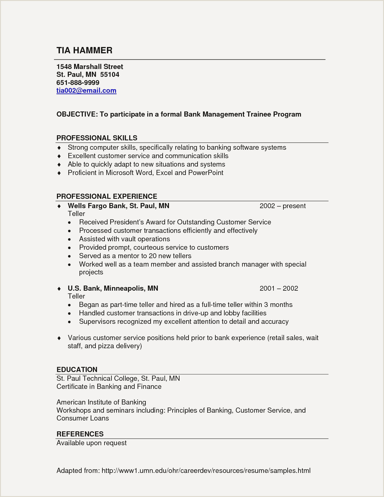 Formal Resume Sample Unique Resume Examples Objective