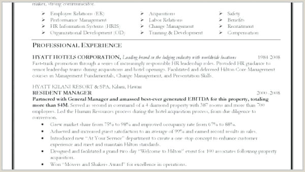 A Professional Profile Resume Examples Example Templates Cv