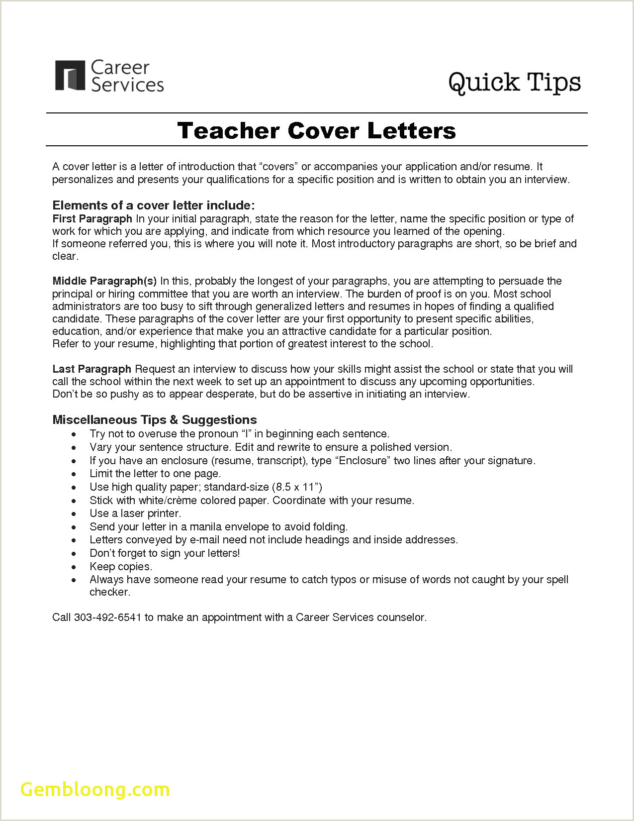 10 cover letter example hospitality