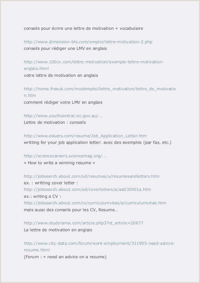 Cv Sample for Job Pdf Lettre De Motivation Demande D Emploi Pdf Template Lettre