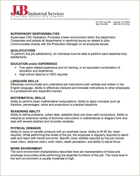 Material Handler Job Description Resume Fresh Simple Cv