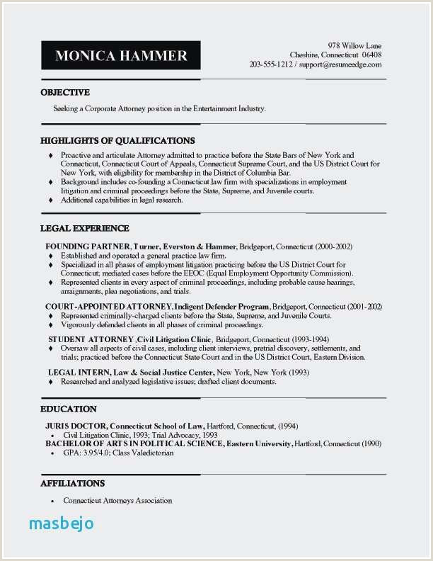 Cv Sample for Legal Jobs attorney Resume Sample – Kizi Games