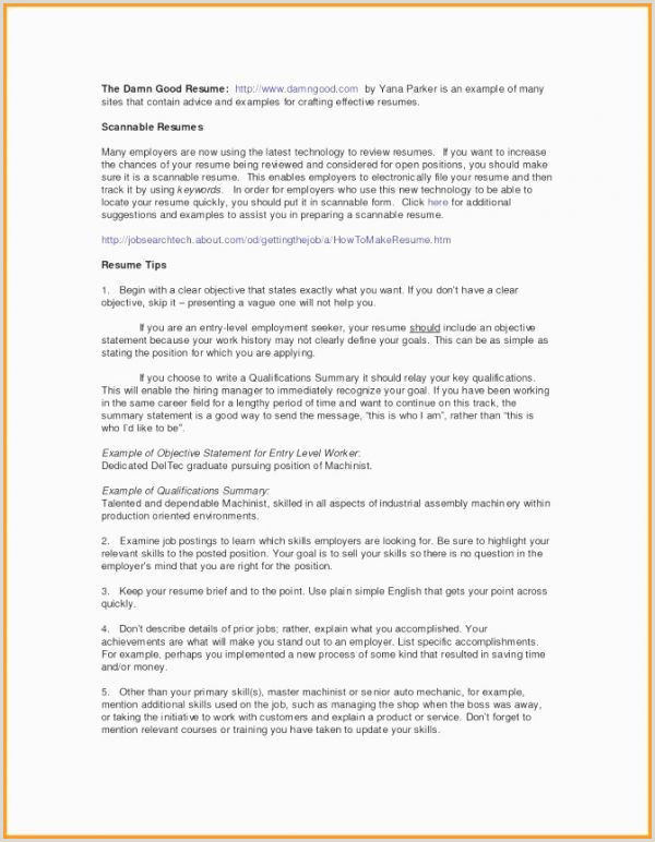 Job Specific Resume Best Sample Resume format for Canada