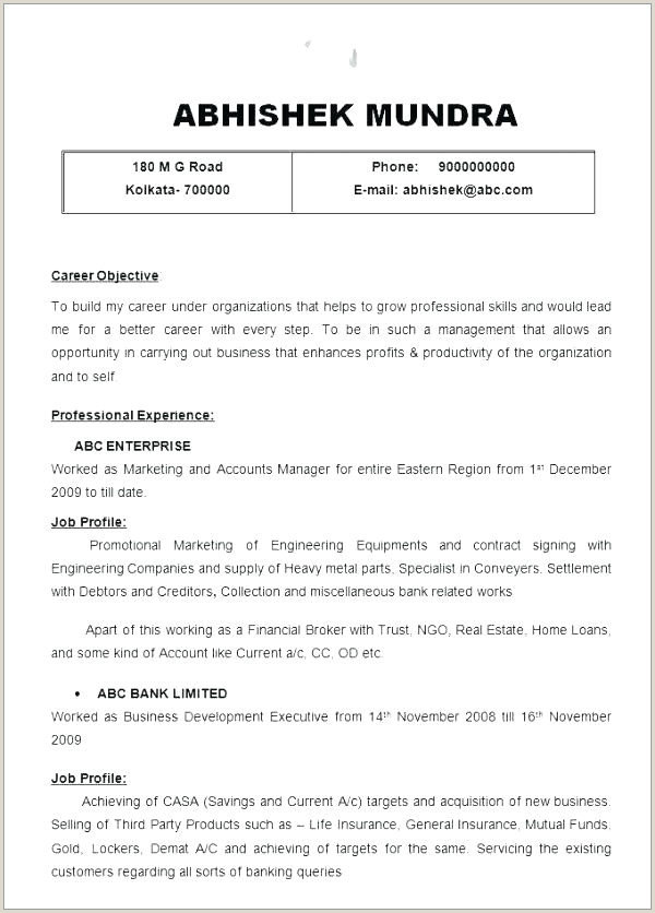 Cv Sample for Ngo Job Settlement Worker Sample Resume – Wanjlee