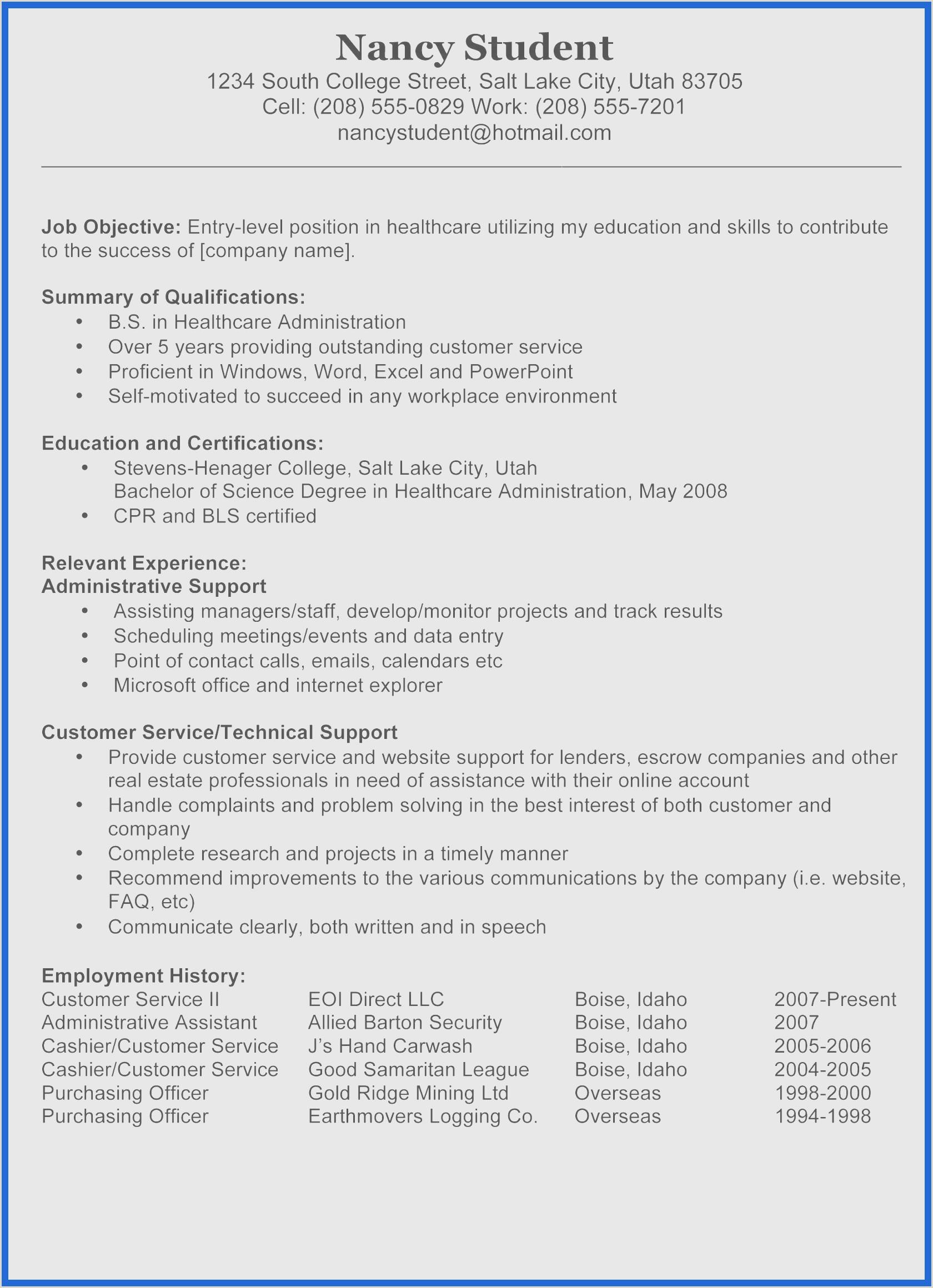 Cv Sample for Office Job Word Line Cv Meilleur De Fresh New Resume Sample Best