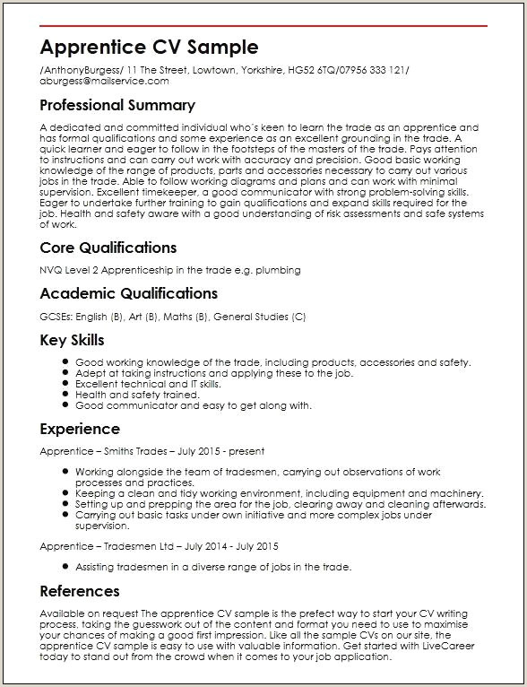 Cv Sample for Un Jobs 45 Exemple Image Cv Xenakisworld