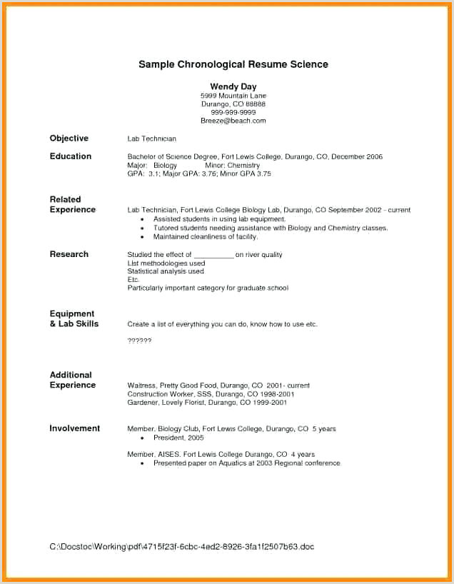 9 10 resume templates for waitress