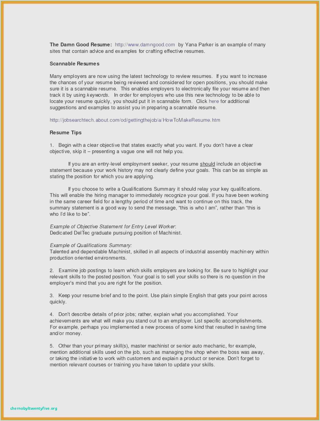 Resume for Job Application Pdf Examples 42 Letter for Job