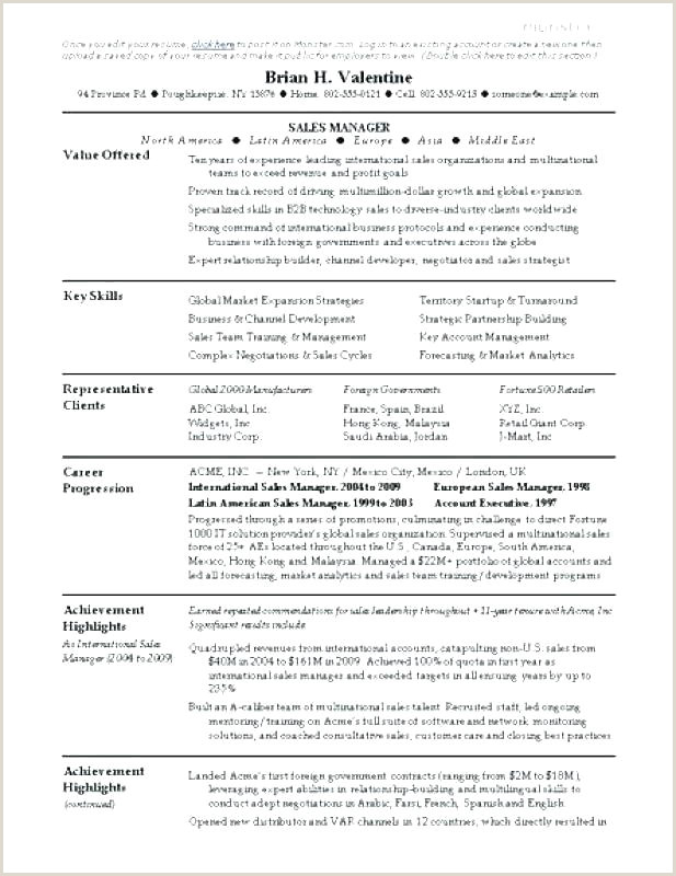Cv Samples for Job Pdf Resume format Free Jobs Best American Curriculum Vitae Pdf