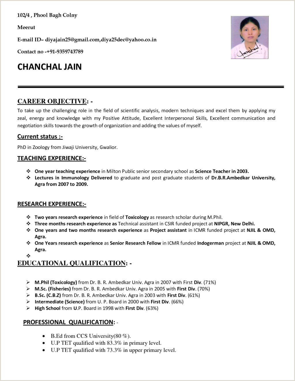 Cv Samples For Lecturer Job How To Write An Application Letter For A Teaching Job In A