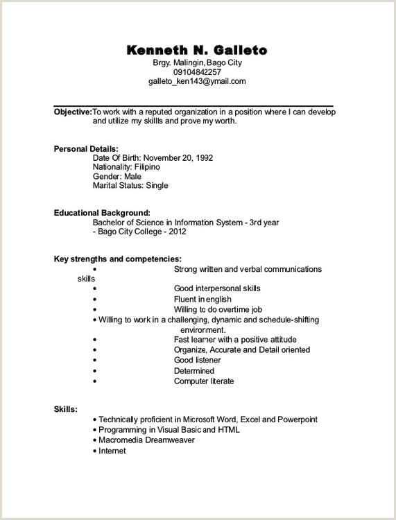 Pin by ririn nazza on FREE RESUME SAMPLE