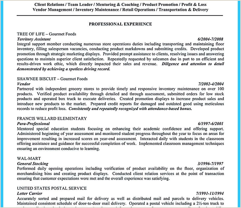 Cv Samples For Store Keeper Job Storekeeper Resume Samples Sample Resume Maintenance