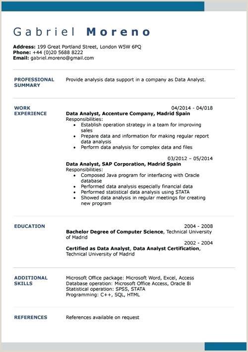 Cv Standard European format top Oxford University Template Design Resume Templates