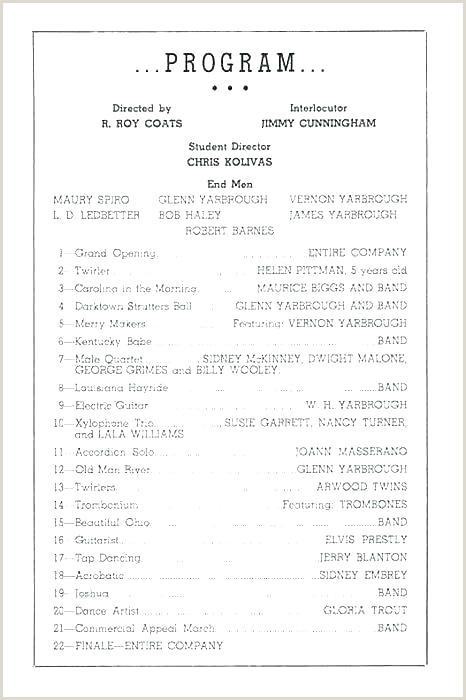 church musical program template