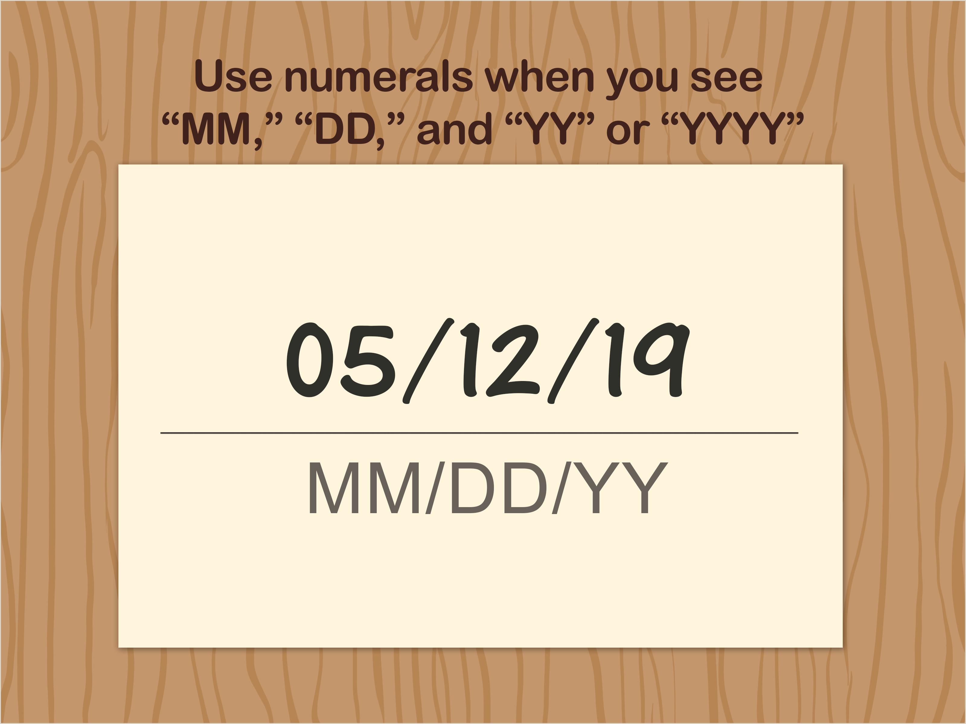 3 Ways to Write Dates wikiHow