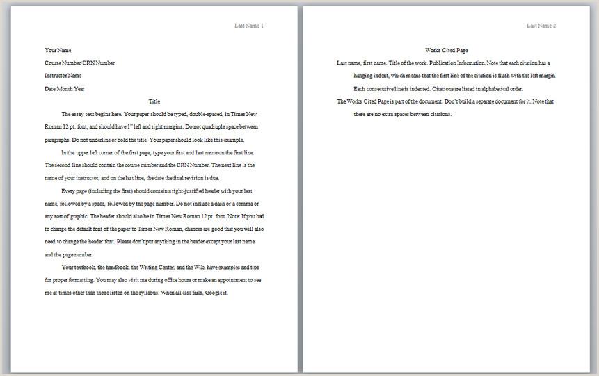Apa essay paper Senate term length School
