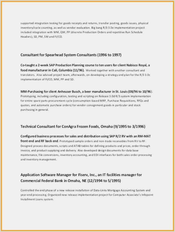 Attractive Bsa Analyst Resume Resume Design