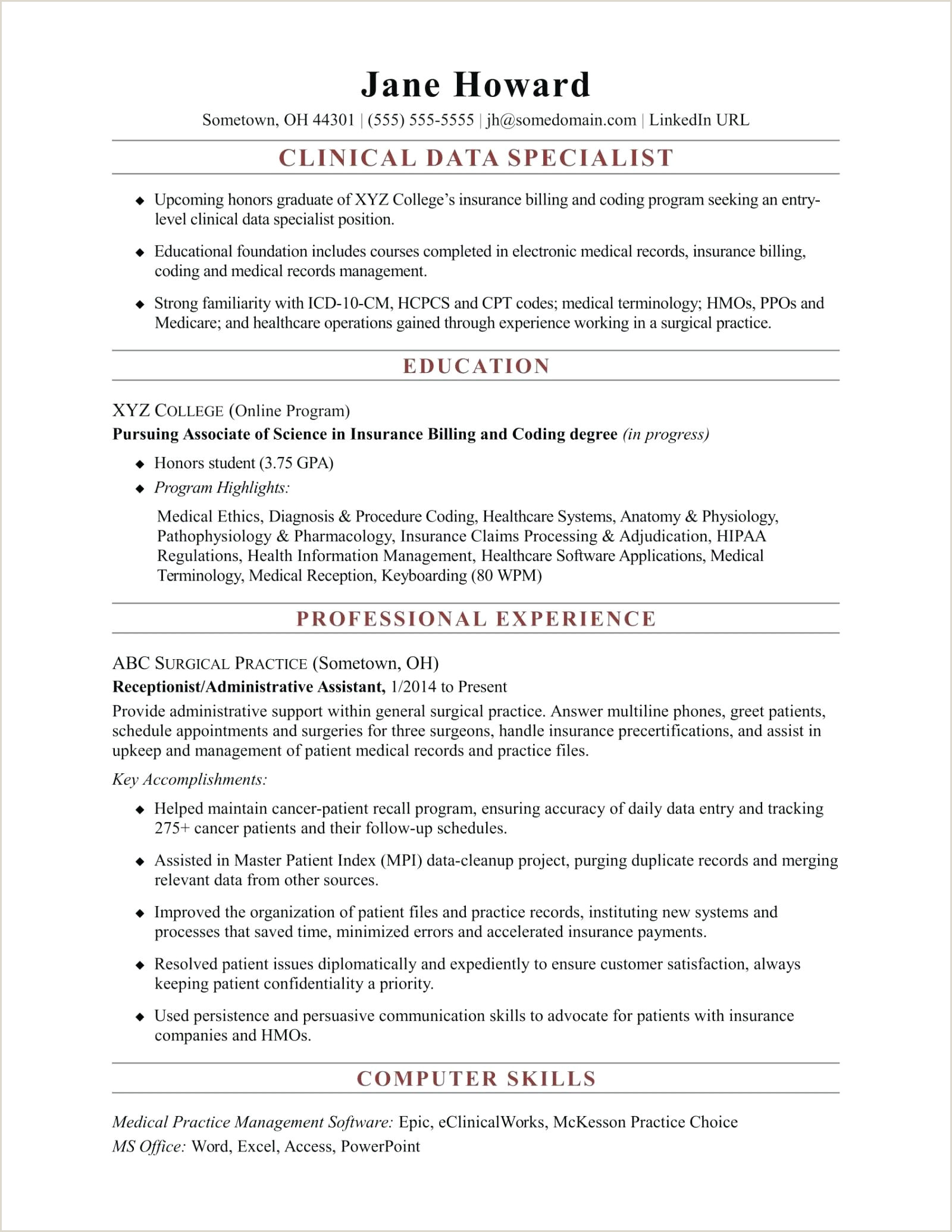 resume template for entry level – verypage